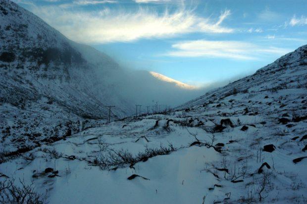 Figure 6: A cold view from Gastein towards Kitzbühel. November 2015. Photo: Ingar Figenschau.