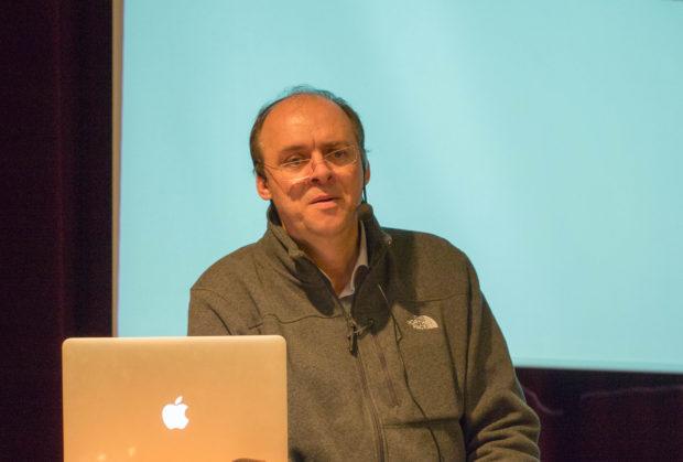 Graham Harman in 2015. Photo: Sonic Acts